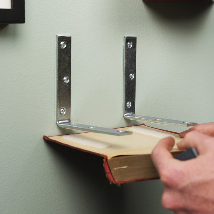 Invisible Bookshelf Attach Book