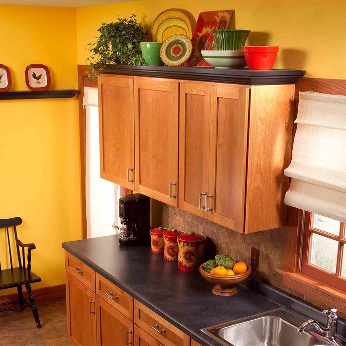 kitchen organization display storage shelf