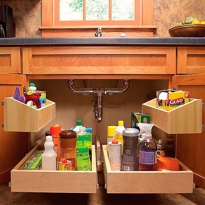 pullout cabinet add-ons