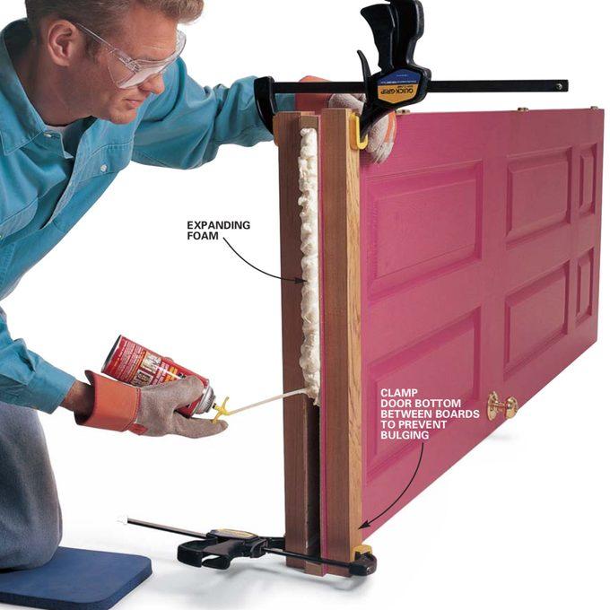 hollow-core DOOR