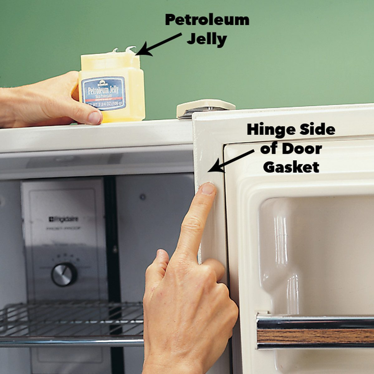 replace refrigerator door gasket refrigerator door