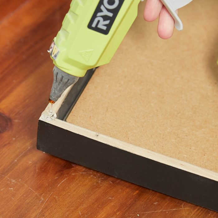 Hot Glue Gun Uses: Picture Frame Bumpers