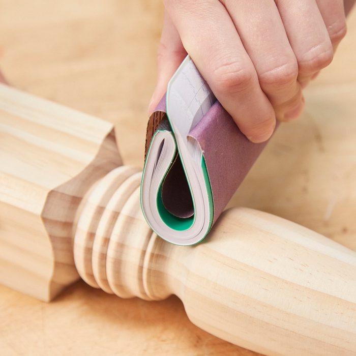 HH flexible sanding block notebook