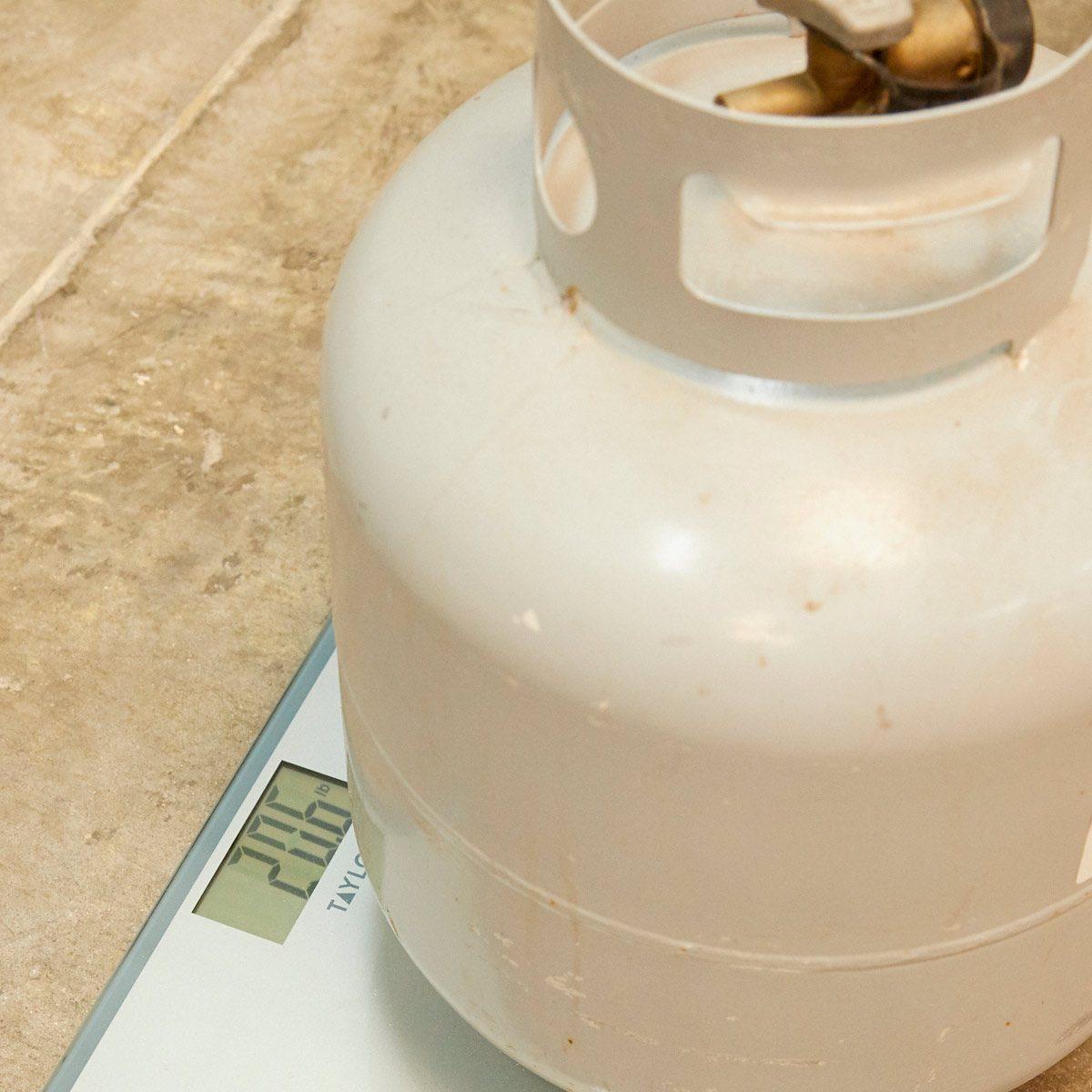 HH propane tank bathroom scale
