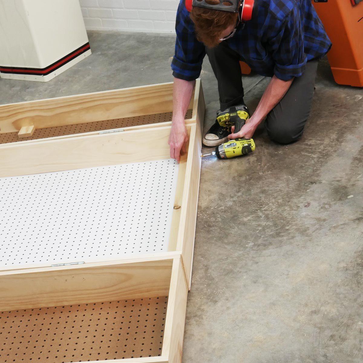 Lockable Storage Cabinet Mounting Strips
