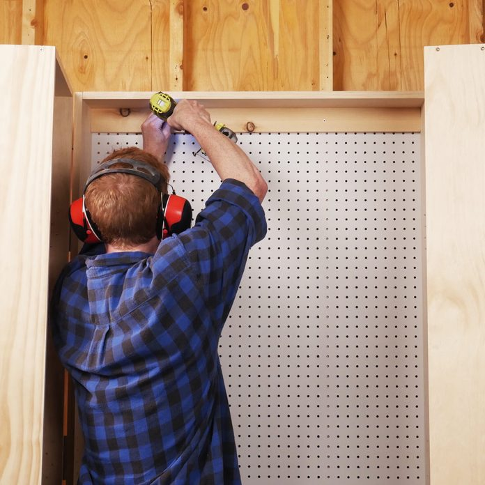 Lockable Storage Cabinet Mount to the wall