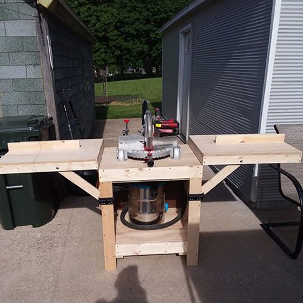 Richard Rowe DIY Miter Saw Stand