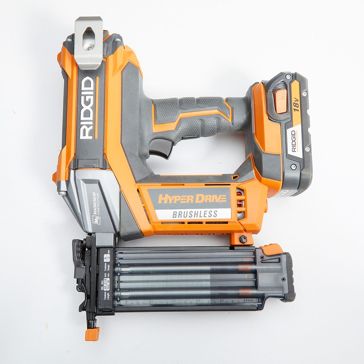 Ridgid Brad Nailer Featuring Dry Fire Lockout | Construction Pro Tips