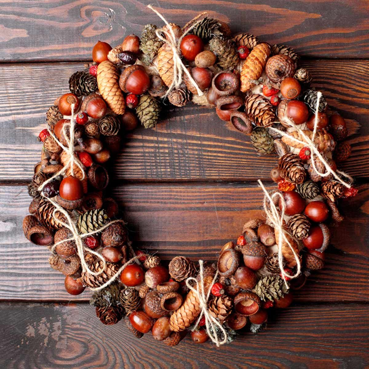 woodsy wreath