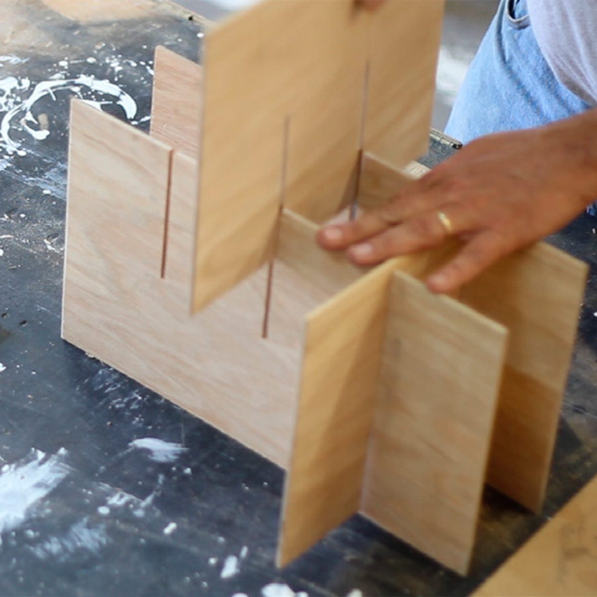 wine crate dividers