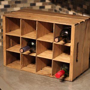 Super-Simple Countertop Wine Rack