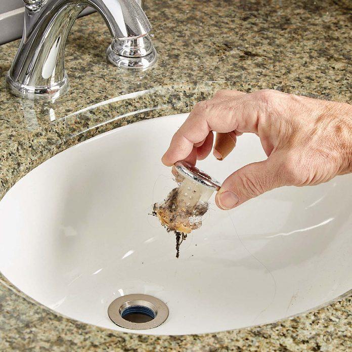 hair drain clog stopper sinkshroom