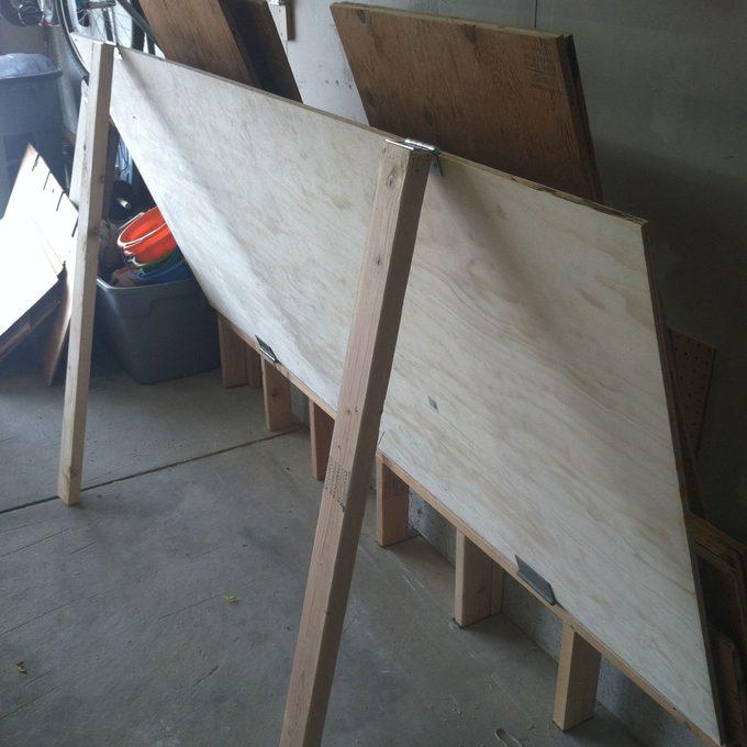 handy plywood storage
