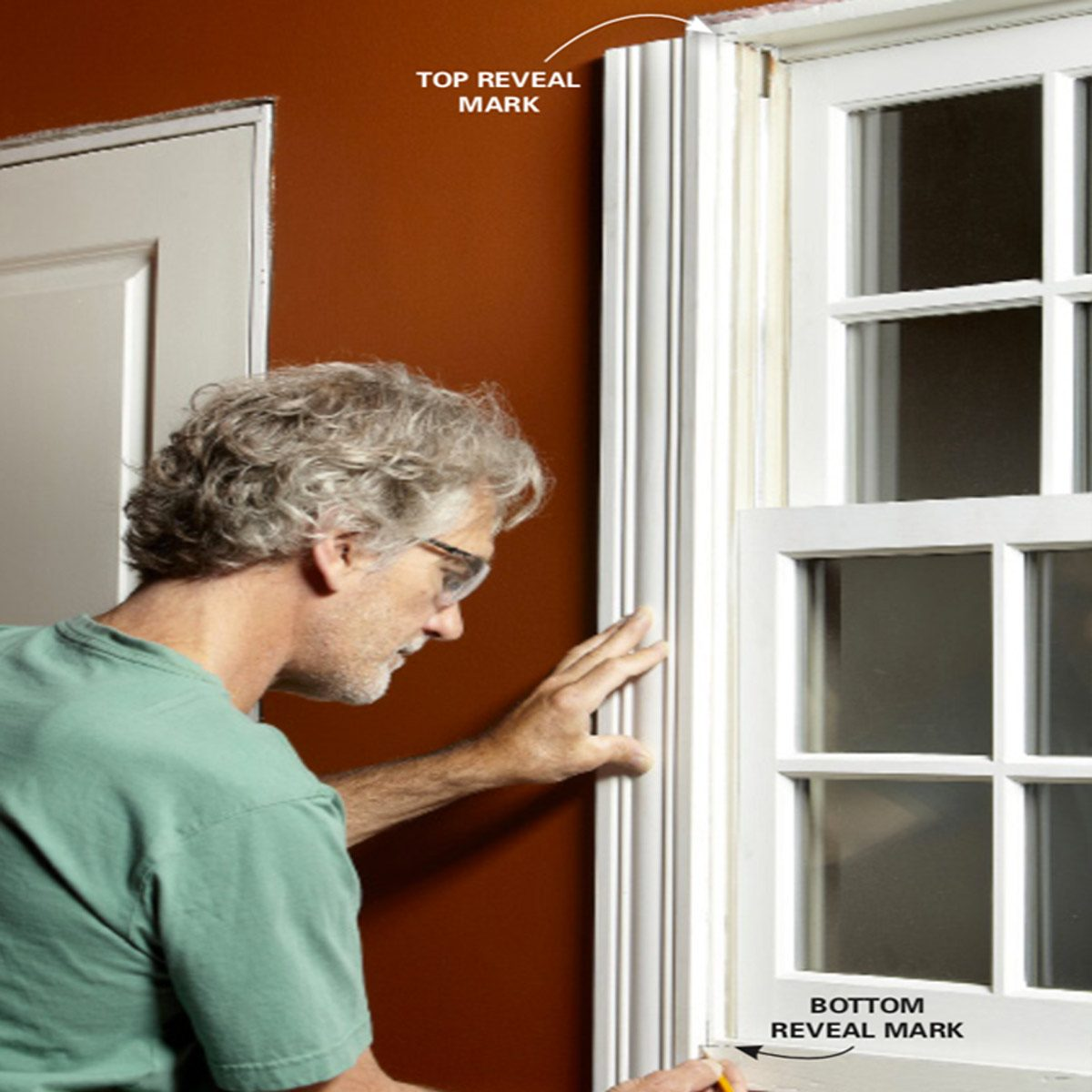 window crown molding