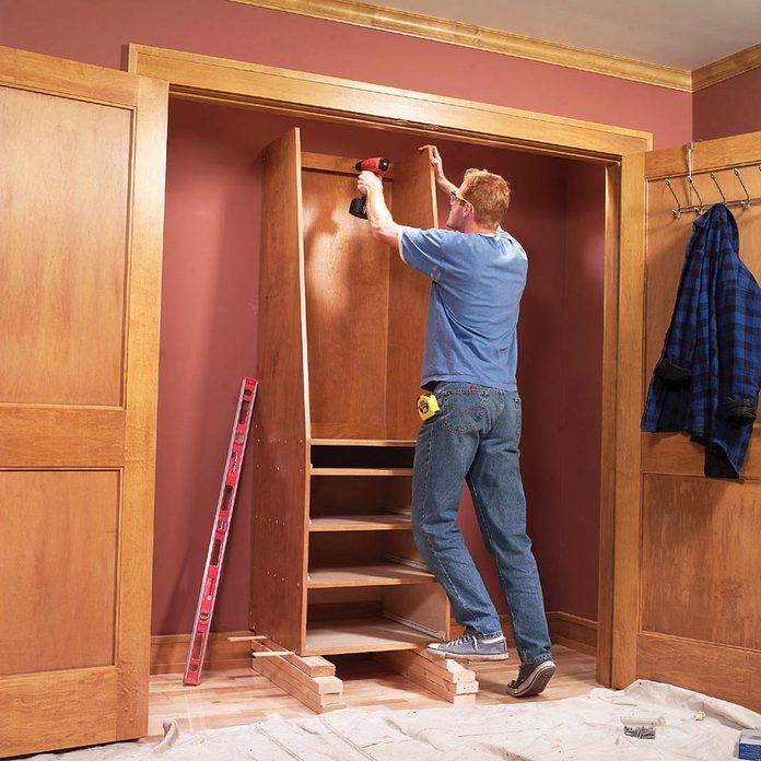 closet organization storage