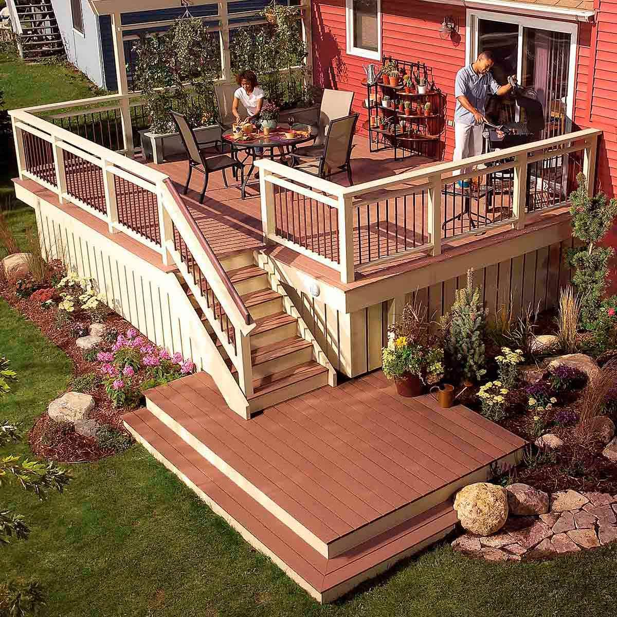 after deck makeover