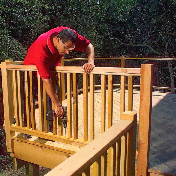 new railing before