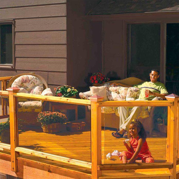 new deck railing