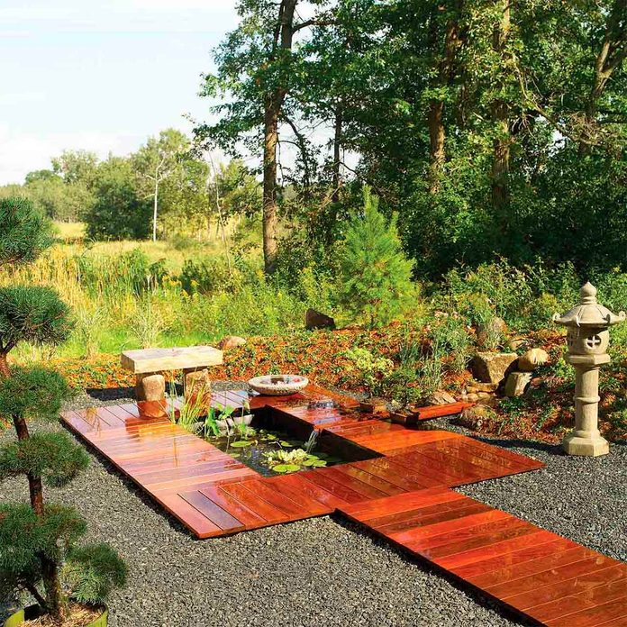 deck pond after show-stopping home projects