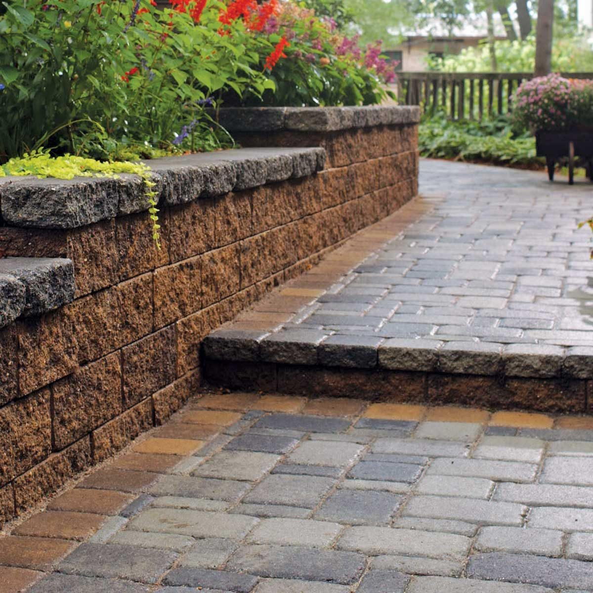 retaining wall brick
