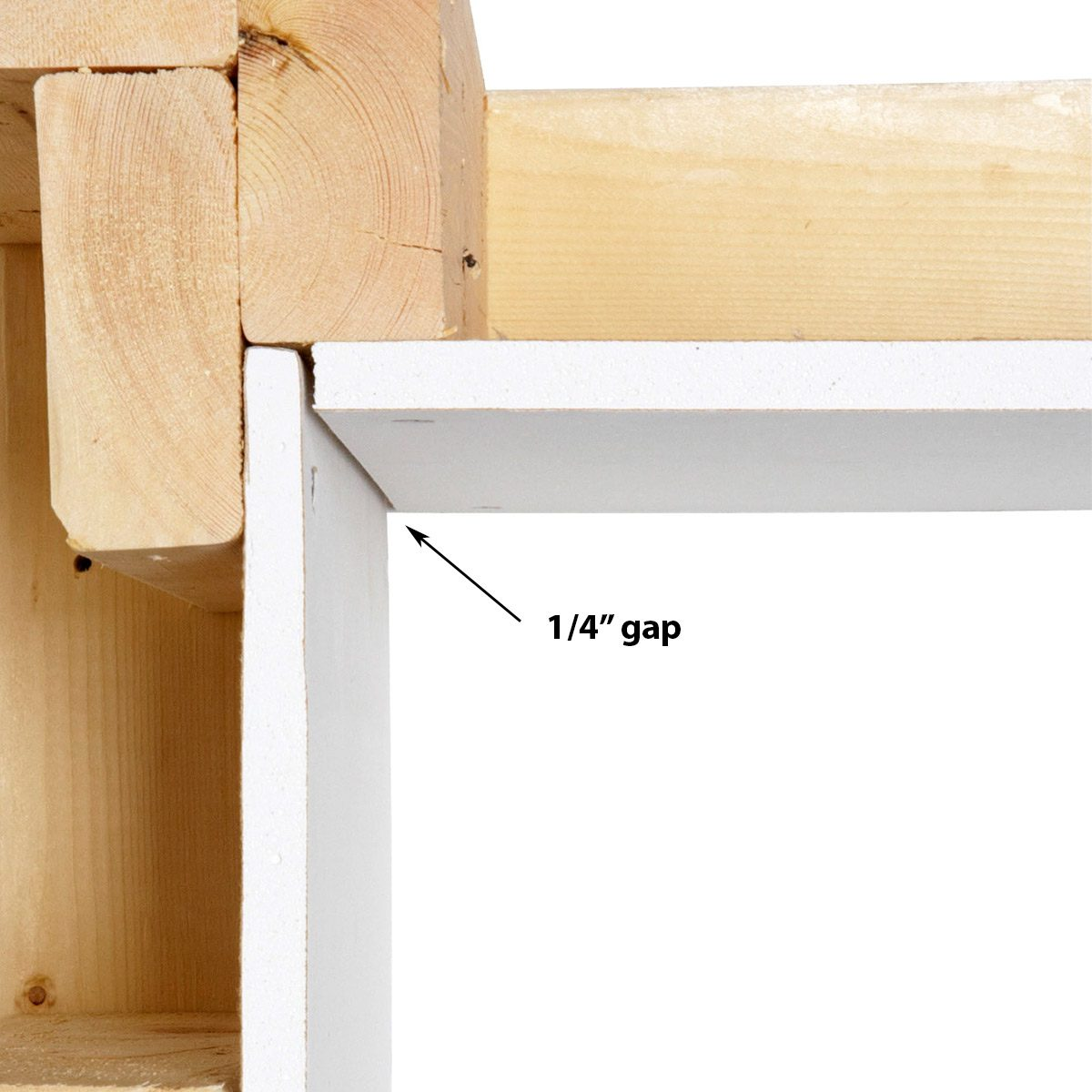 gap in drywall