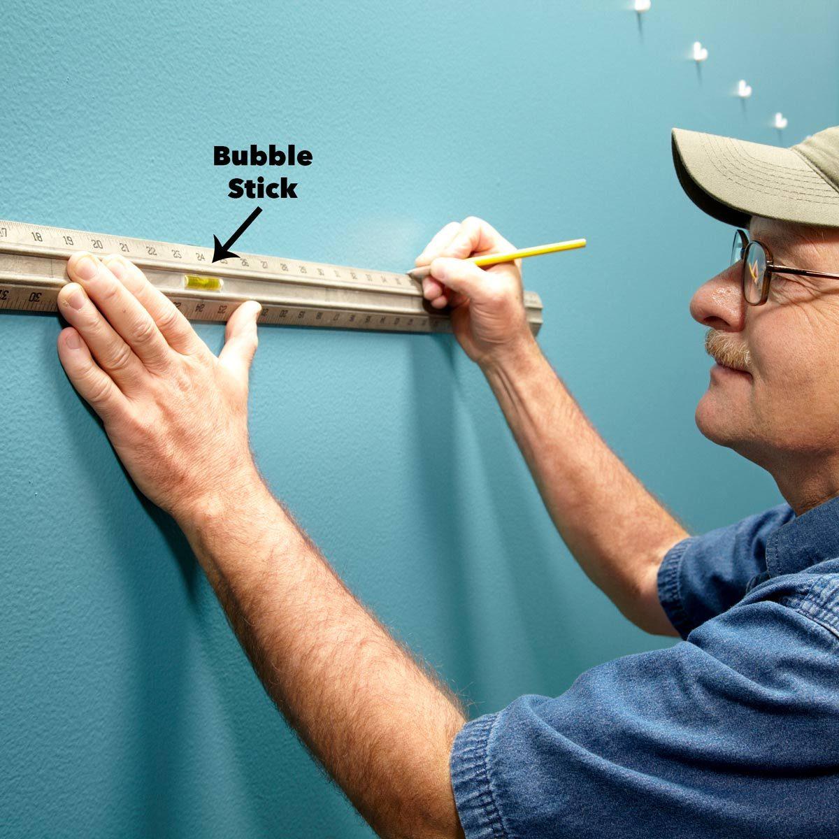 bubble stick level