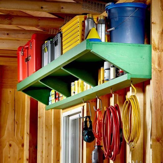 garage shelf