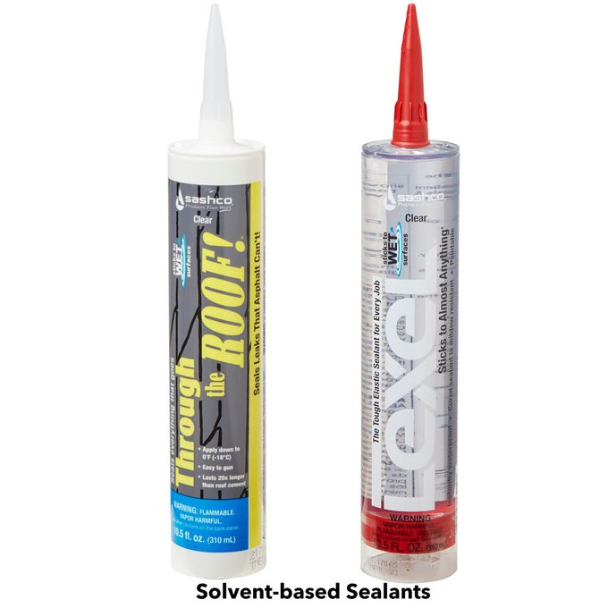 solvent based sealants caulk