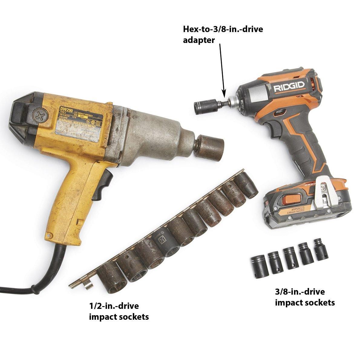 impact sockets and driver
