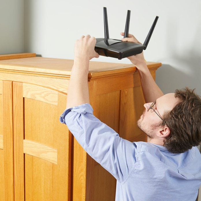 move router to improve wi-fi signal