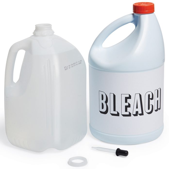 purify water with bleach