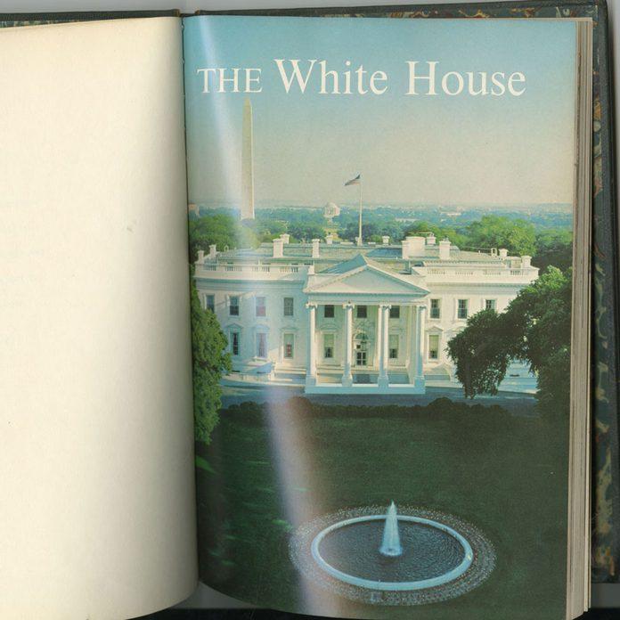 jackie white house tour