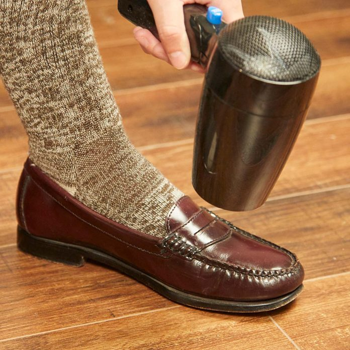 HH leather shoes blow dryer