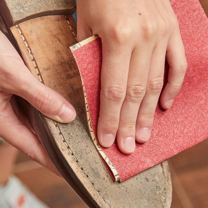 HH sandpaper slippery shoe soles