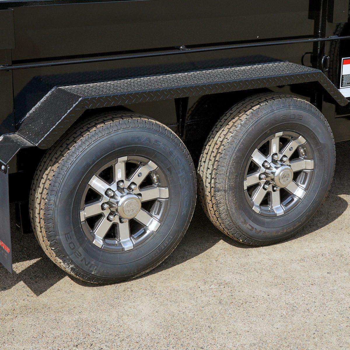Aluminum trailer wheels | Construction Pro Tips