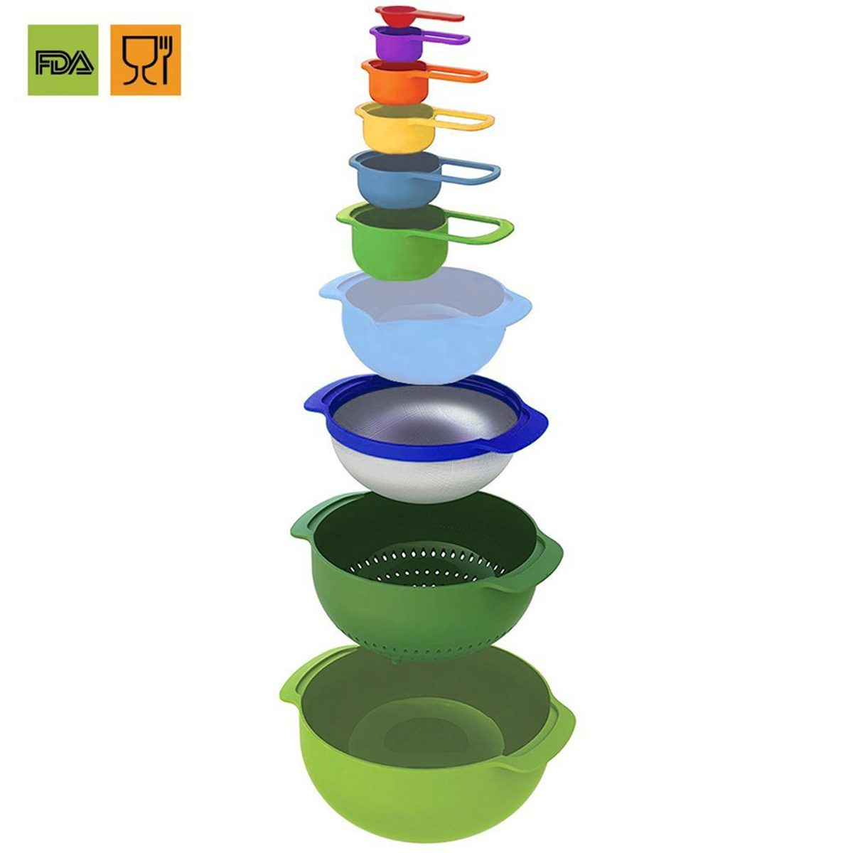 kitchen organization bowls