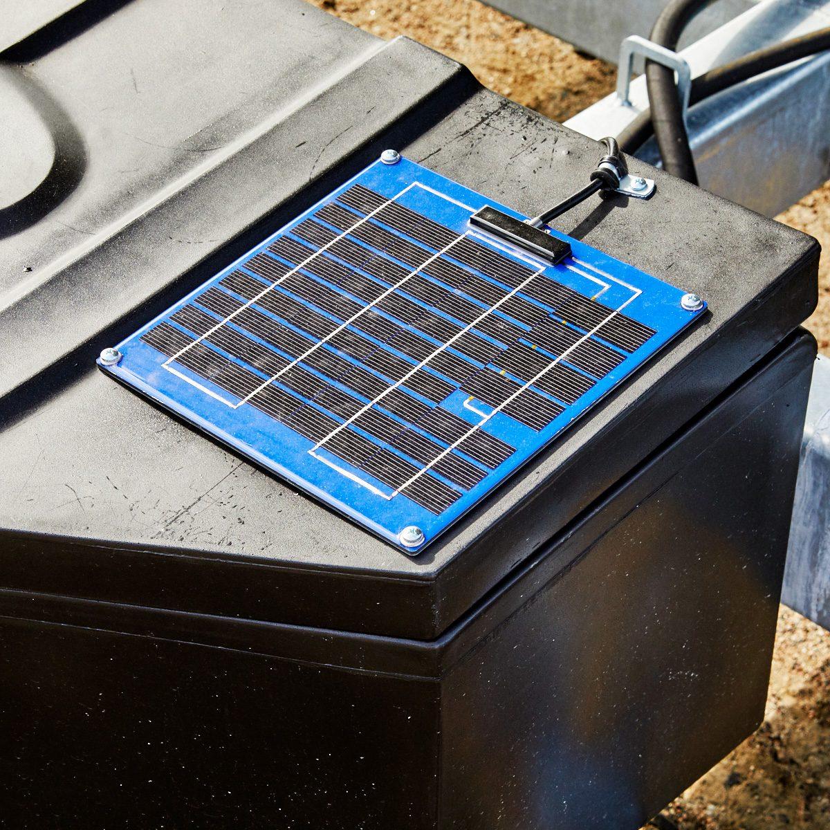 Solar panel charging option | Construction Pro Tips