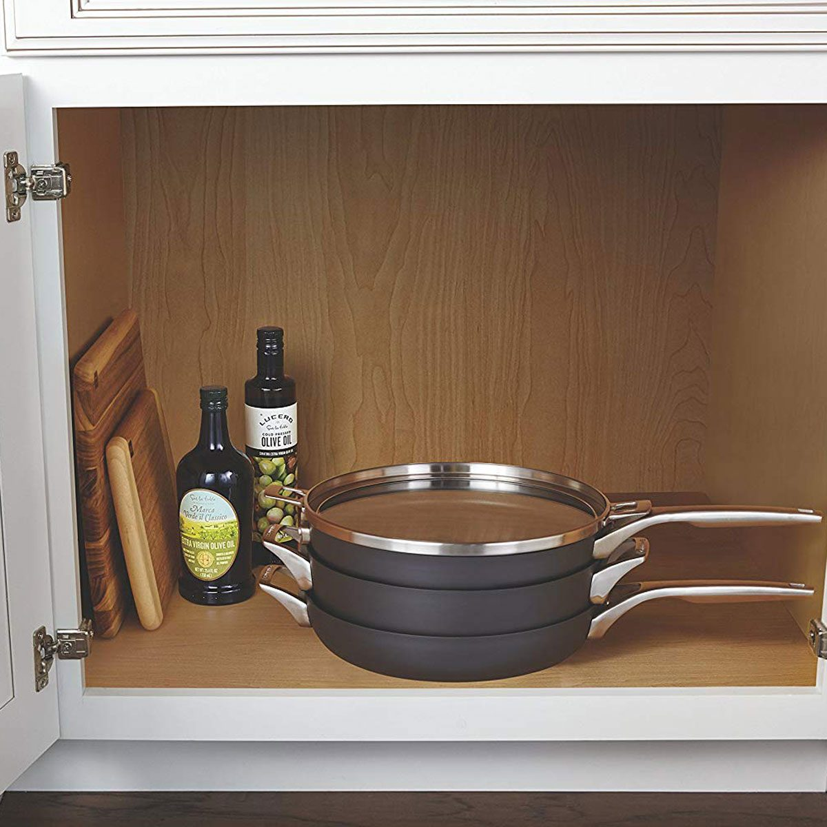 kitchen organization pans