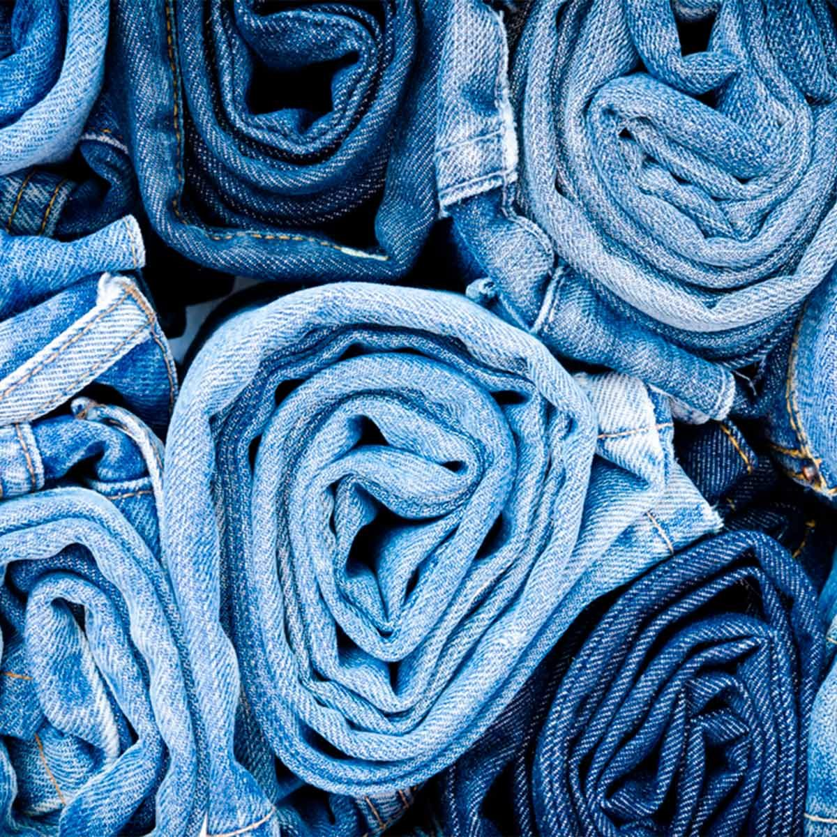 jeans laundry hack