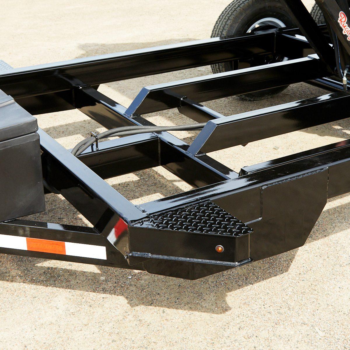 A tubular trailer frame | Construction Pro Tips