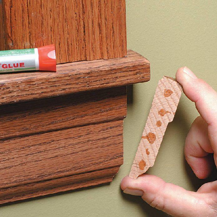 glue in return window trim