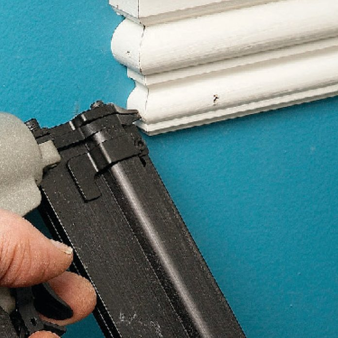 get a pinner for window trim