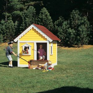 How to Build a Classic Playhouse