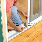 How To Adjust a Sticking Patio Screen Door