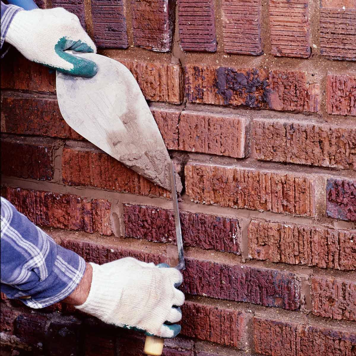 repair brick mortar joints