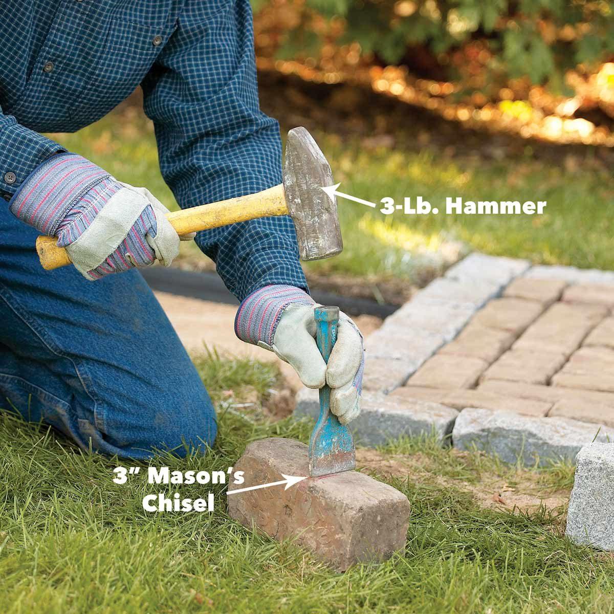 cut pavers