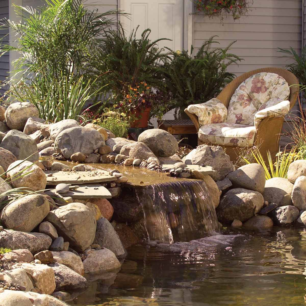 how to make a backyard fish pond