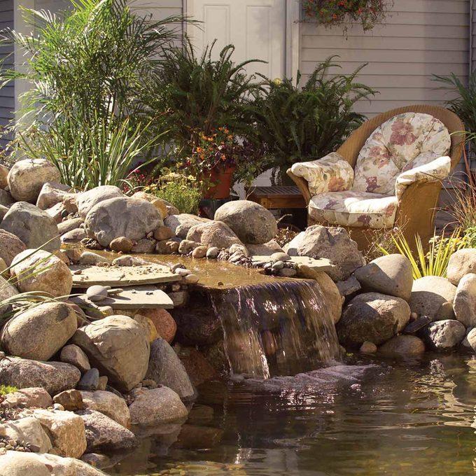 how to make a backyard fish pond