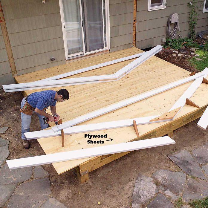 build the trusses