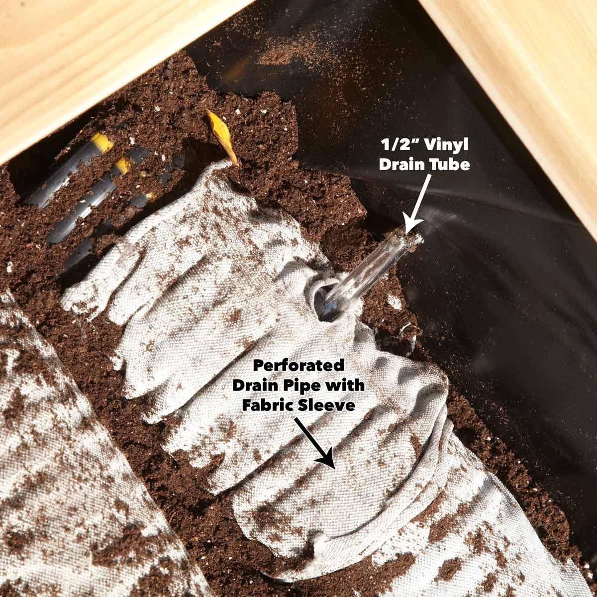 store water in drain pipes